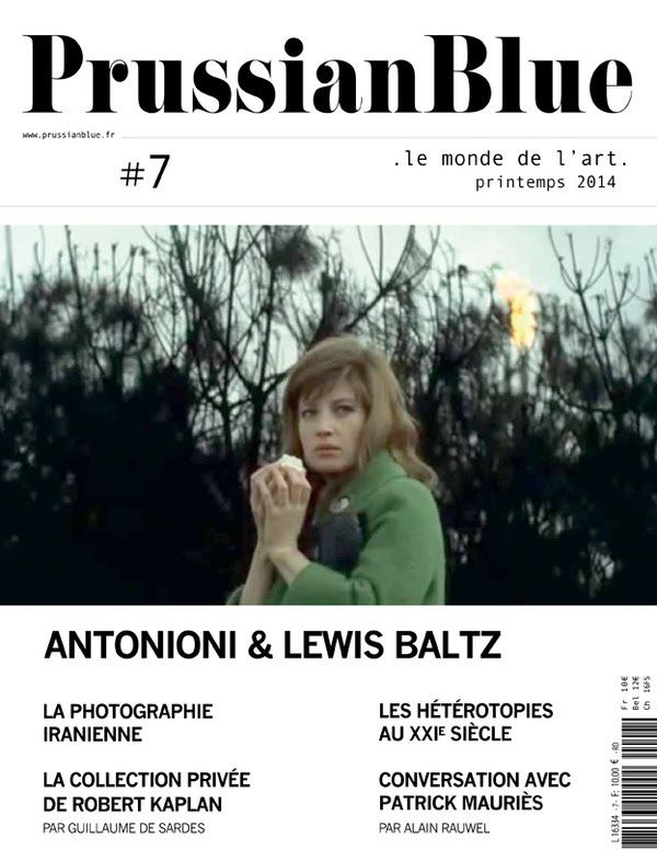 Prussian Blue Magazine d'art Numéro 7 disponible en kiosque le 26 juin / ACTUALITE