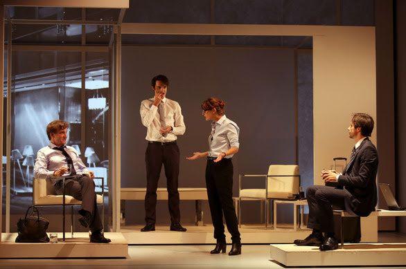 Les Cartes du Pouvoir au Théâtre Hébertot dès le 29 août 2014 / THEATRE