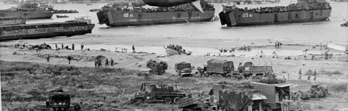 74 ANS APRES LE DEBARQUEMENT / HISTOIRE / NORMANDIE