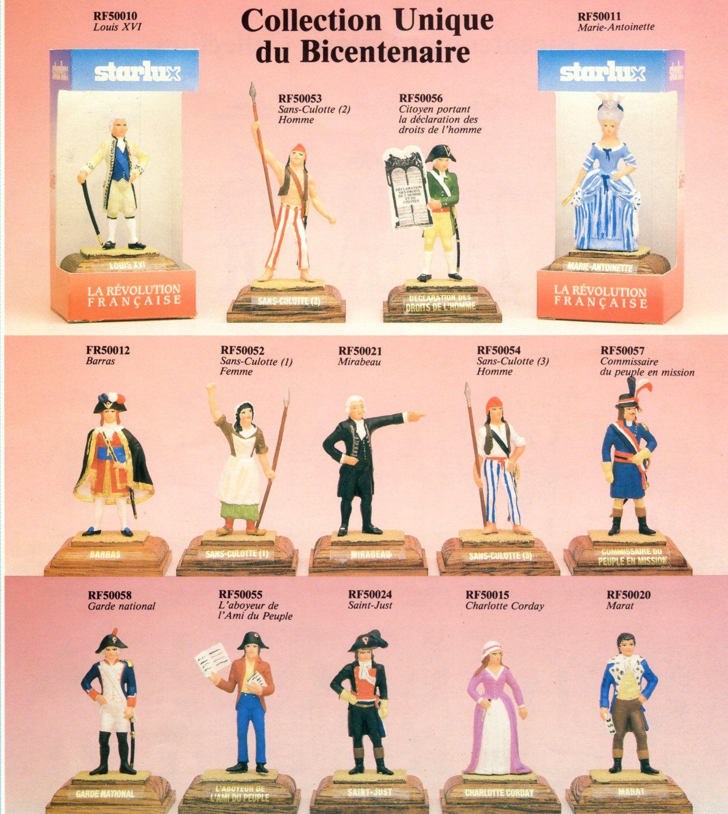 PASSION FIGURINES ET MINIATURES / LOISIRS CREATIFS / N°9 /  STARLUX / BICENTENAIRE DE LA REVOLUTION