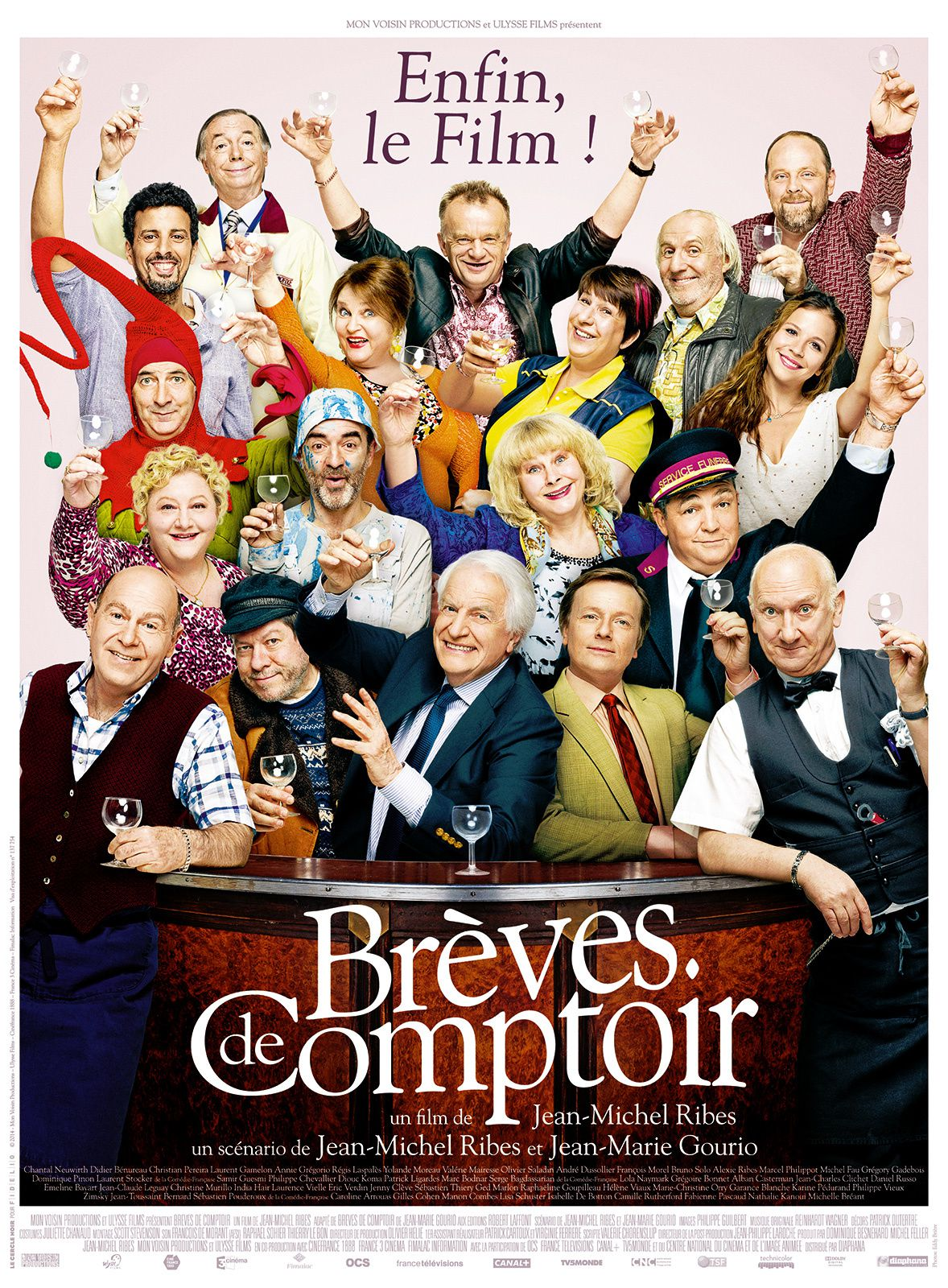 BREVES DE COMPTOIR / CINEMA / JEAN-MICHEL RIBES