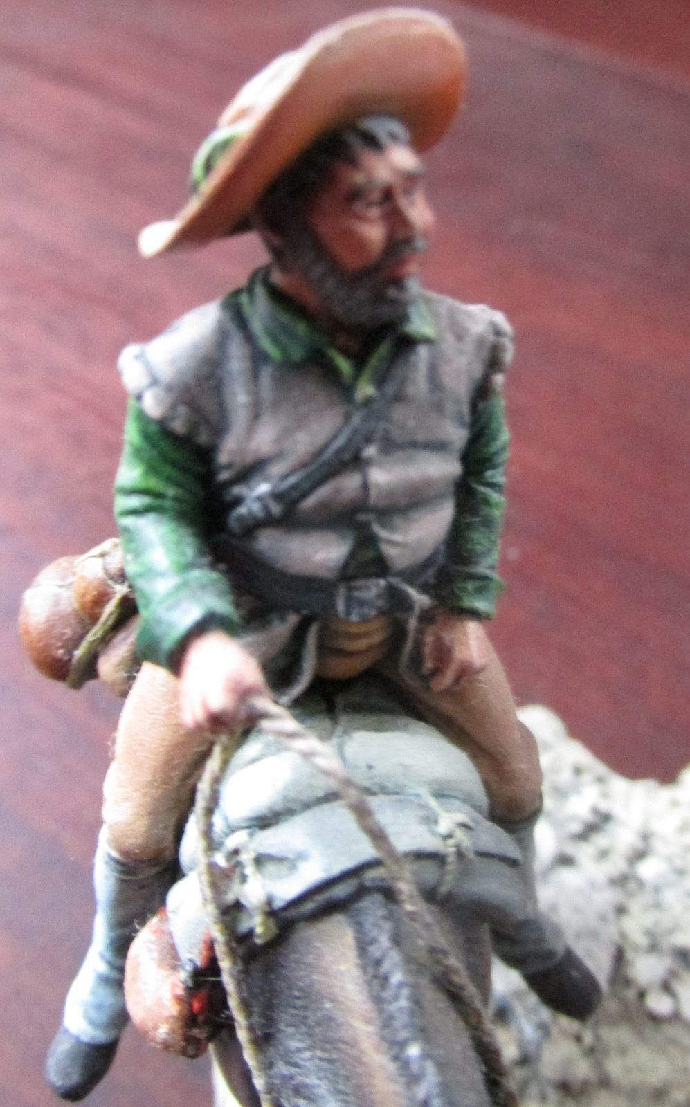 PASSION FIGURINES ET MINIATURES / LOISIRS CREATIFS / N°13 / Don Quichotte et Sancho Panca