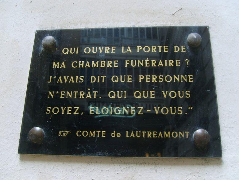 Isidore Ducasse, dit le comte de Lautréamont / LITTERATURE