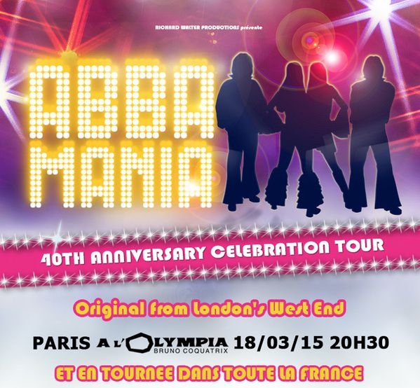 ABBA MANIA, la tournée française ! / CHANSON-MUSIQUE / ACTUALITES