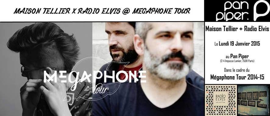 MÉGAPHONE TOUR 2014-15 @ Pan Piper / CHANSON-MUSIQUE / ACTUALITE
