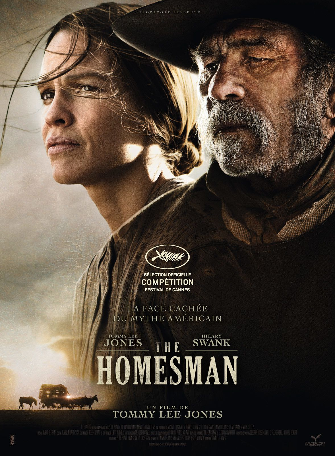 The Homesman / CINEMA / de &amp&#x3B; avec Tommy Lee Jones