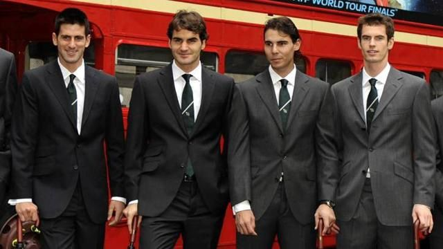DJOKOVIC / FEDERER / NADAL / MURRAY