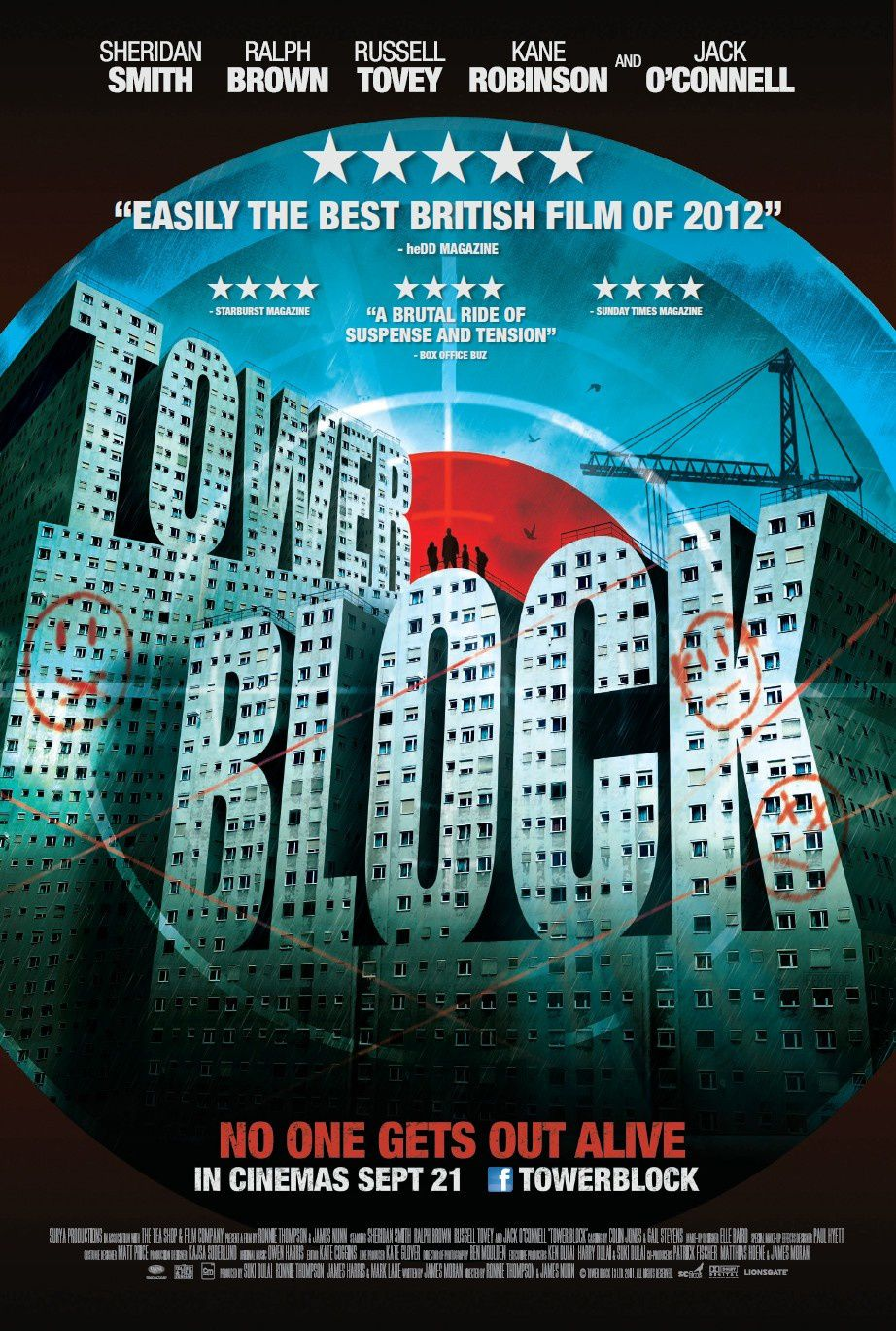 TOWER BLOCK / CINEMA / James Nunn, Ronnie Thompson