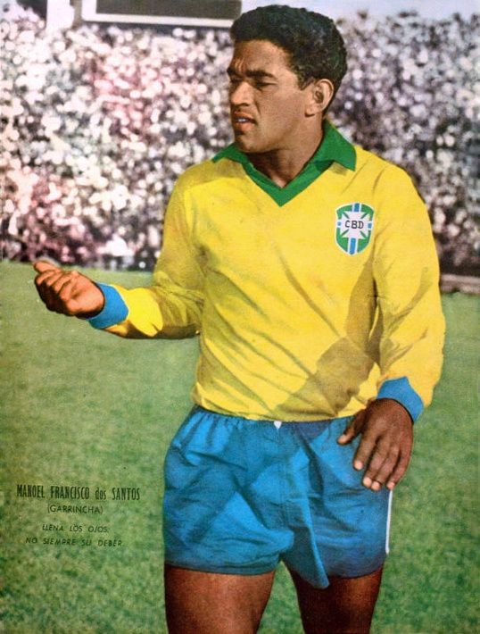 GARRINCHA / LE ROI DU DRIBLE / FOOTBALL / BRESIL