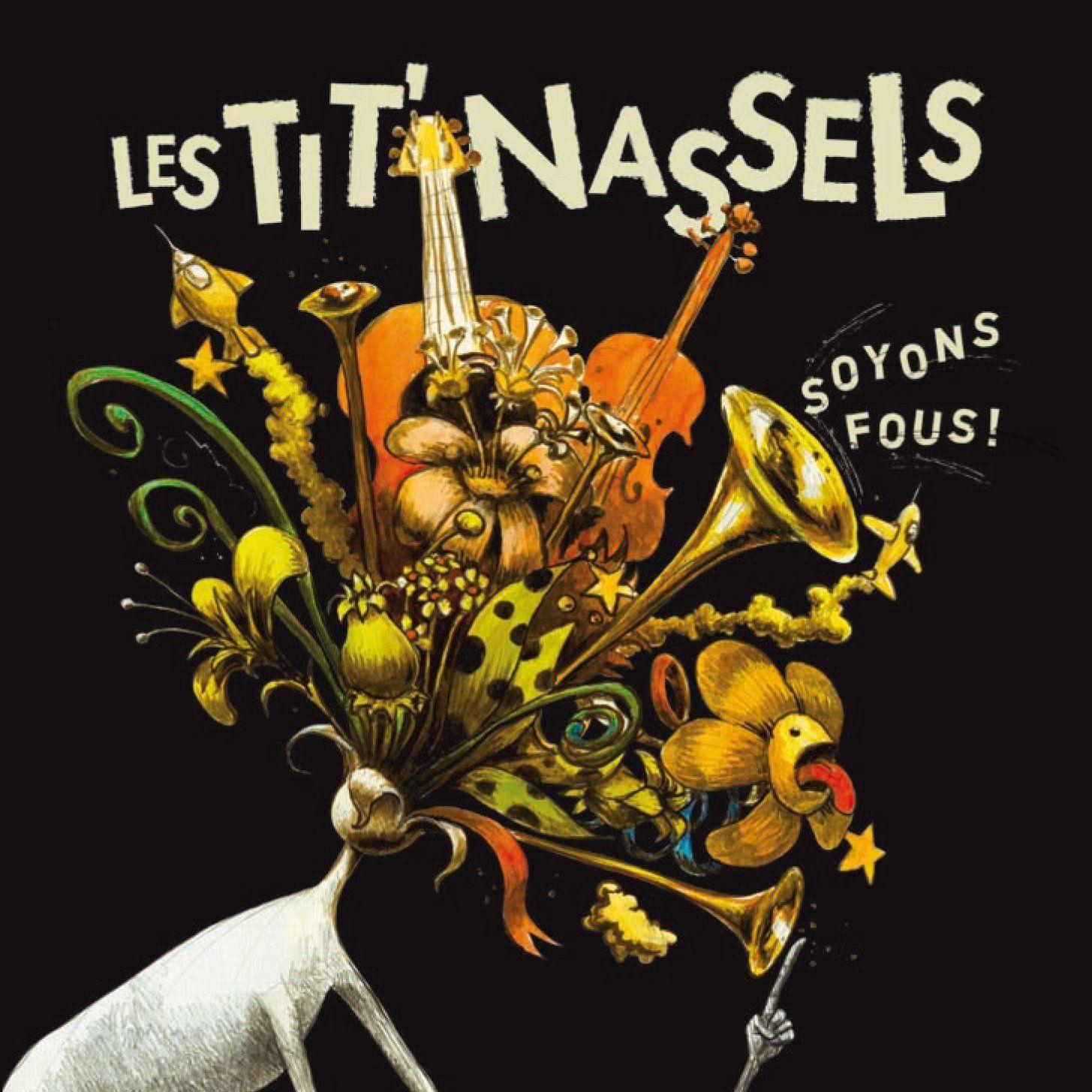 LES TIT'NASSELS A DEVILLE LES ROUEN / CHANSON MUSIQUE / MARDI 10 MARS 2015