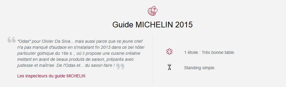 L'ODAS / RESTAURANT 1* MICHELIN / ROUEN