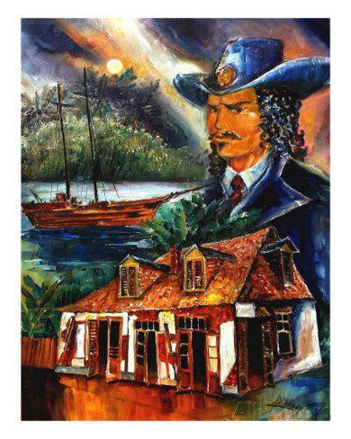 Jean Lafitte / PIRATE ET HEROS AMERICAIN / HISTOIRE