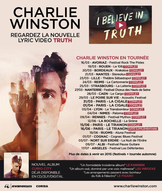 Charlie Winston, la vidéo de Truth / CHANSON MUSIQUE / ACTUALITES