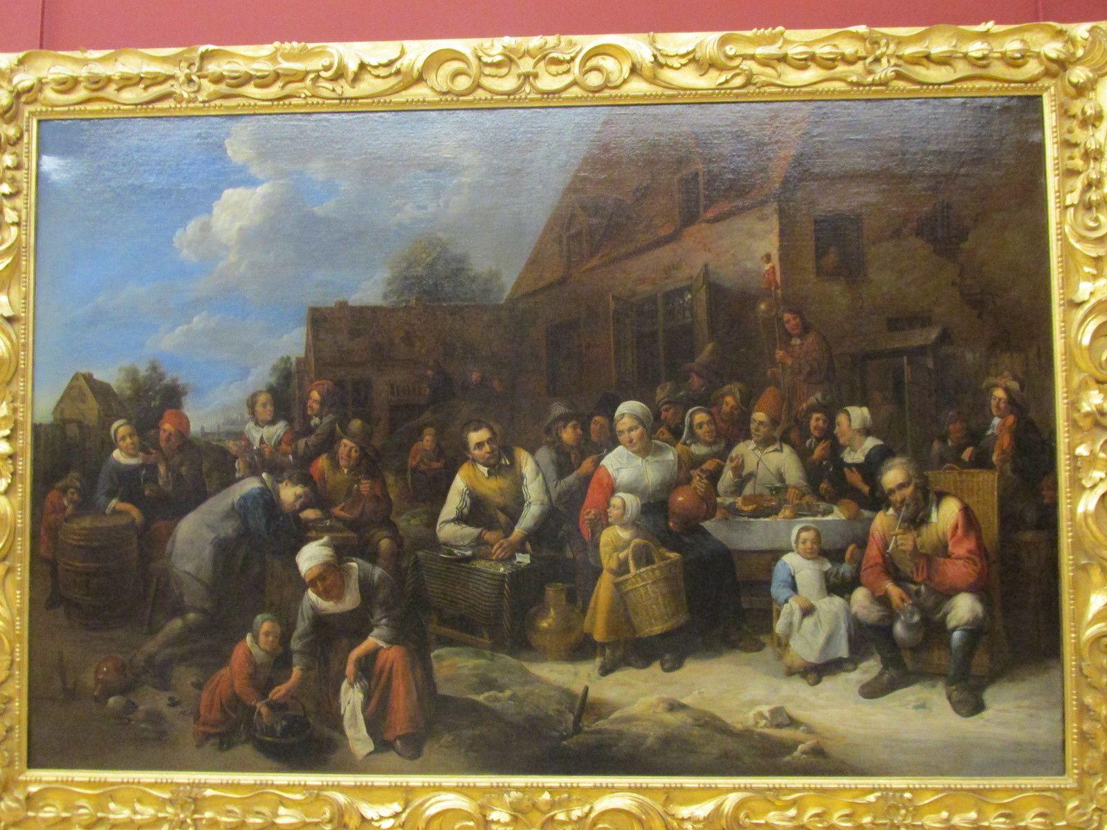 BANQUET VILLAGEOIS. 1678. GILLIS VAN TILBORCH