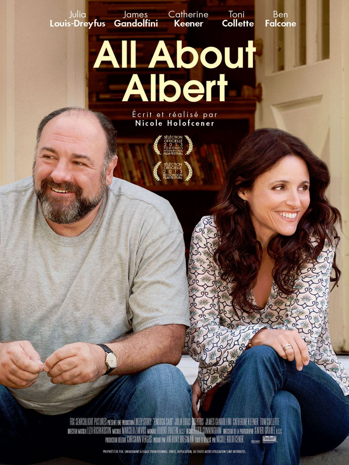 ALL ABOUT ALBERT / CINEMA / NICOLE HOLOFCENER / 2013
