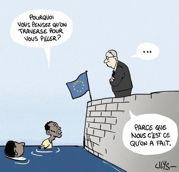 VIE POLITIQUE / MORT DE CHARLES P...../ HUMOUR LR