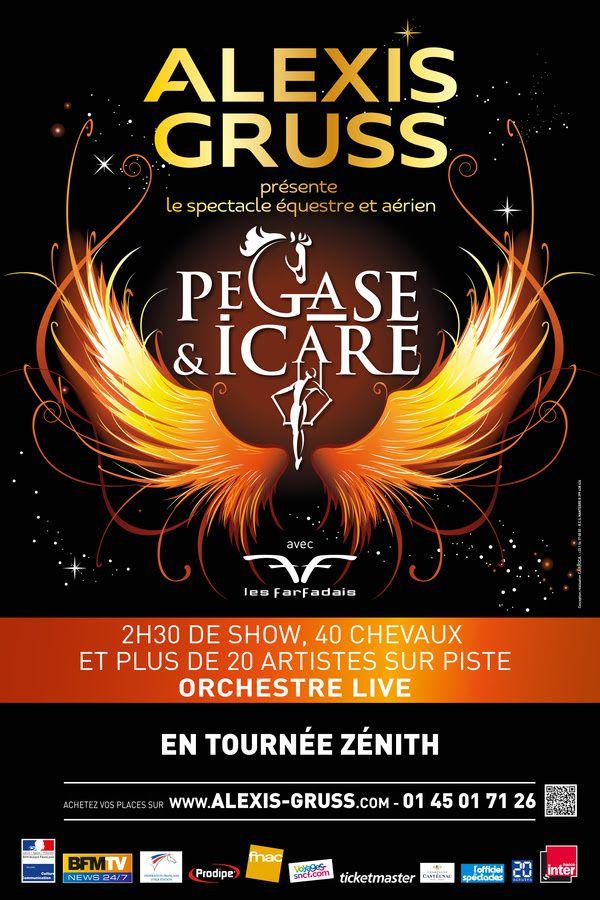 Cirque Alexis Gruss : Pégase &amp&#x3B; Icare // Evénement le 20/11 + jusqu'au 06/03 à Paris / CIRQUE / ACTUALITE