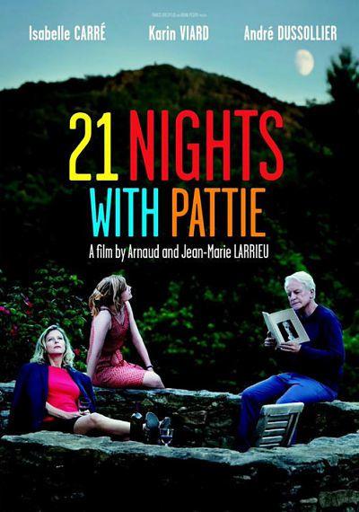 21 NUITS AVEC PATTIE / CINEMA /  Arnaud Larrieu, Jean-Marie Larrieu. 2015