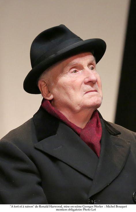 Michel Bouquet dans A Tort Et A Raison dès le 23/12 au Théâtre Hébertot / THEATRE / ACTUALITE