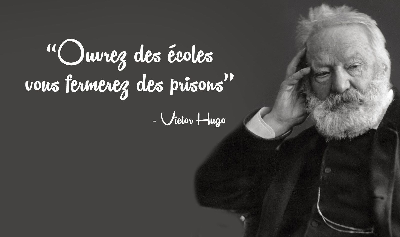 UN JOUR / VICTOR HUGO / LES CONTEMPLATIONS / LITTERATURE