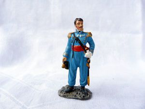 FIGURINE DU GENERAL BRUYERE