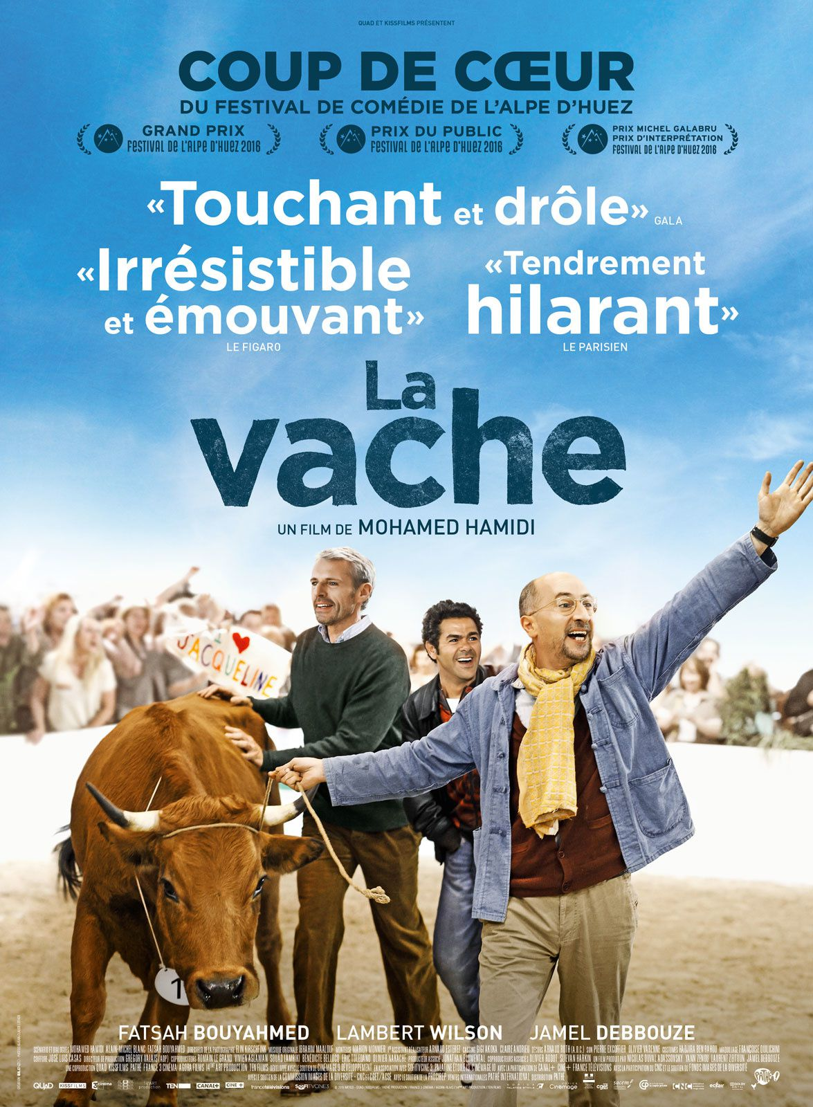 LA VACHE / CINEMA / MOHAMED HAMIDI. 2016