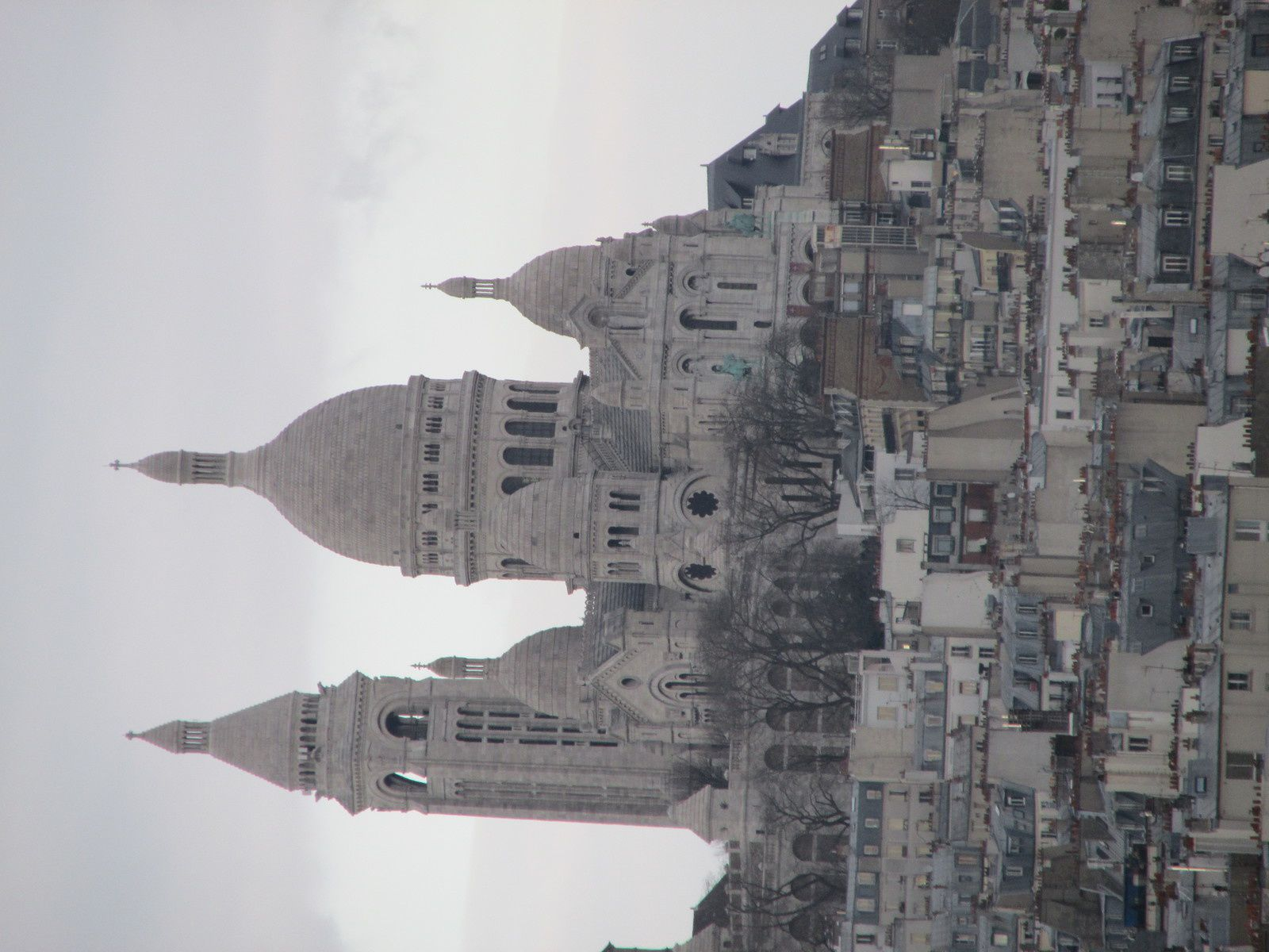VUES DE LA TERRASSE DES GALERIES LAFAYETTE / PARIS / TOURISME