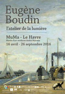 EUGENE BOUDIN AU MUMA / PEINTURE / NORMANDIE IMPRESSIONNISTE AU HAVRE