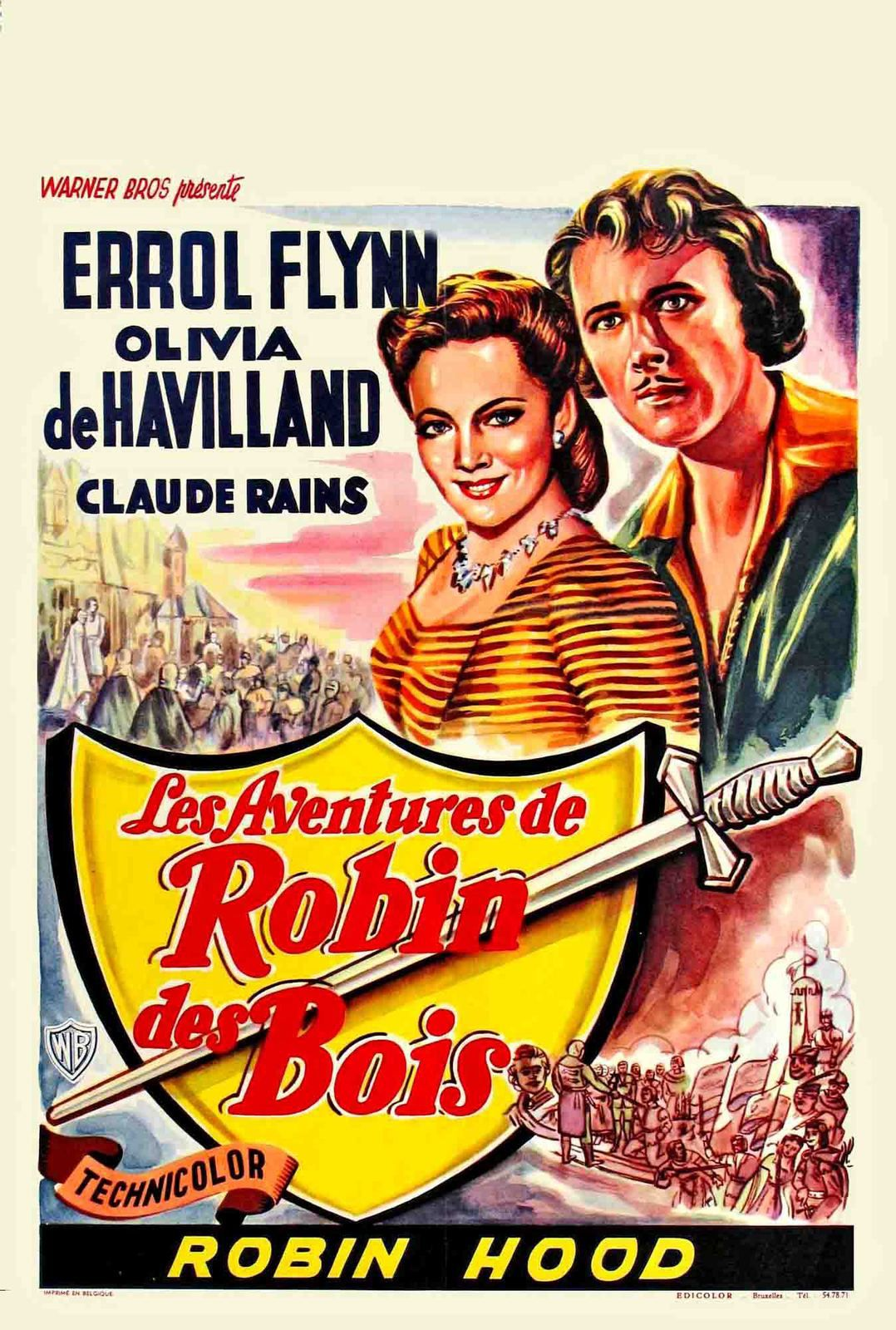 ROBIN DES BOIS / CINEMA / MICHAEL CURTIZ &amp&#x3B; WILLIAM KEIGHLEY. 1938