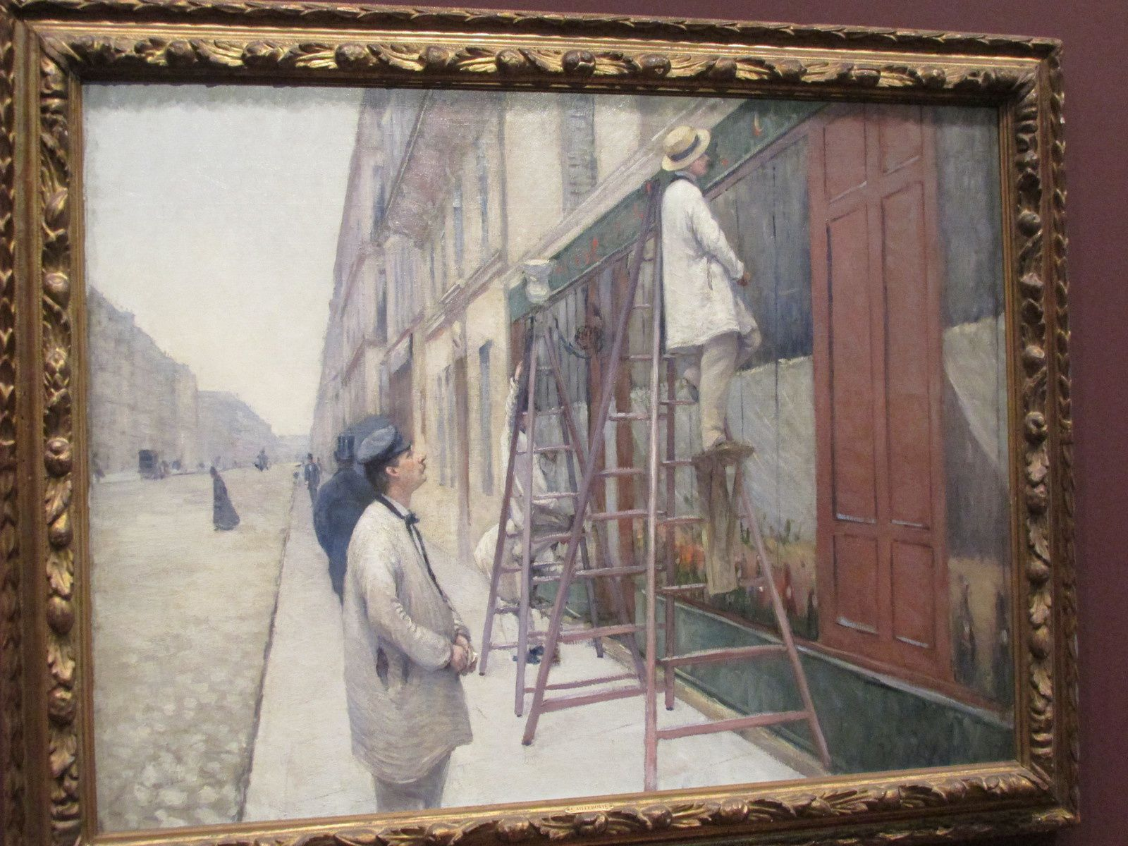 CAILLEBOTTE A GIVERNY / ARTS PLASTIQUES / ACTUALITES