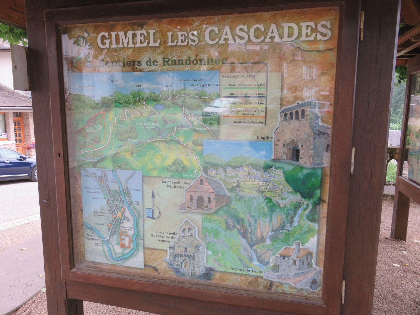 GIMEL LES CASCADES / JOLI VILLAGE DE CORREZE / TOURISME
