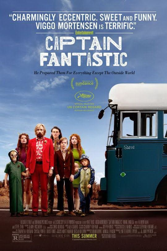 CAPTAIN FANTASTIC / CINEMA / MATT ROSS. 2016