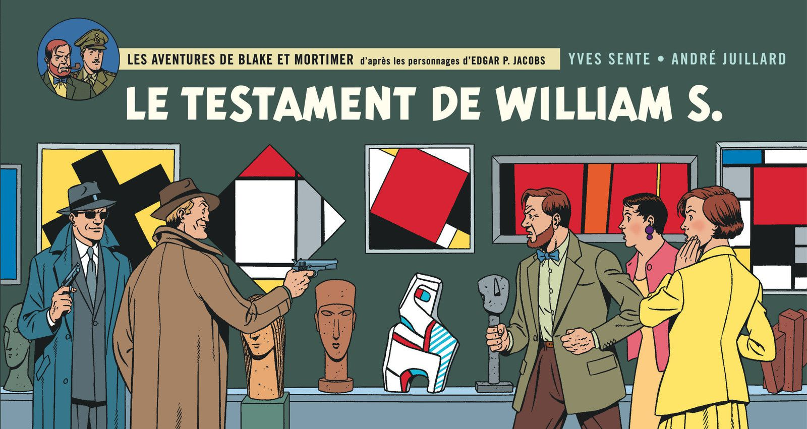 LE TESTAMENT DE WILLIAM S / BANDE DESSINEE / BLAKE ET MORTIMER TOME 24
