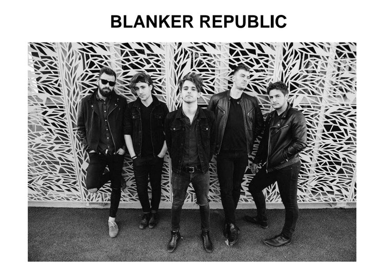 Blanker Republic sort son premier clip : &quot&#x3B;Should I Be Blamed&quot&#x3B; / CHANSON MUSIQUE / ECOUTE / ACTUALITE