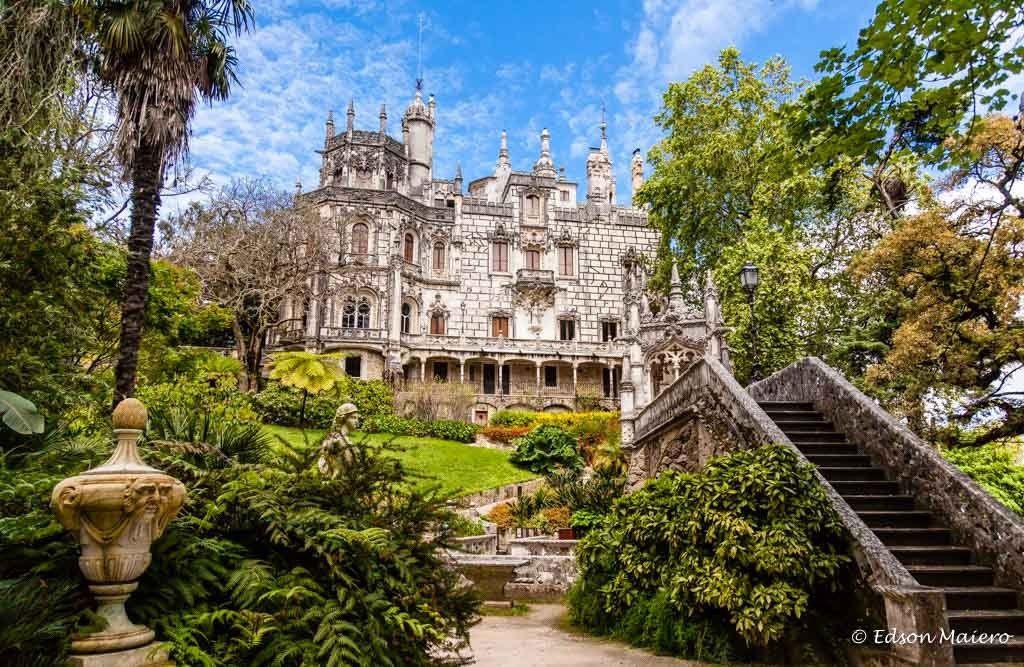 Palais de la Regaleira / SINTRA / TOURISME / PORTUGAL
