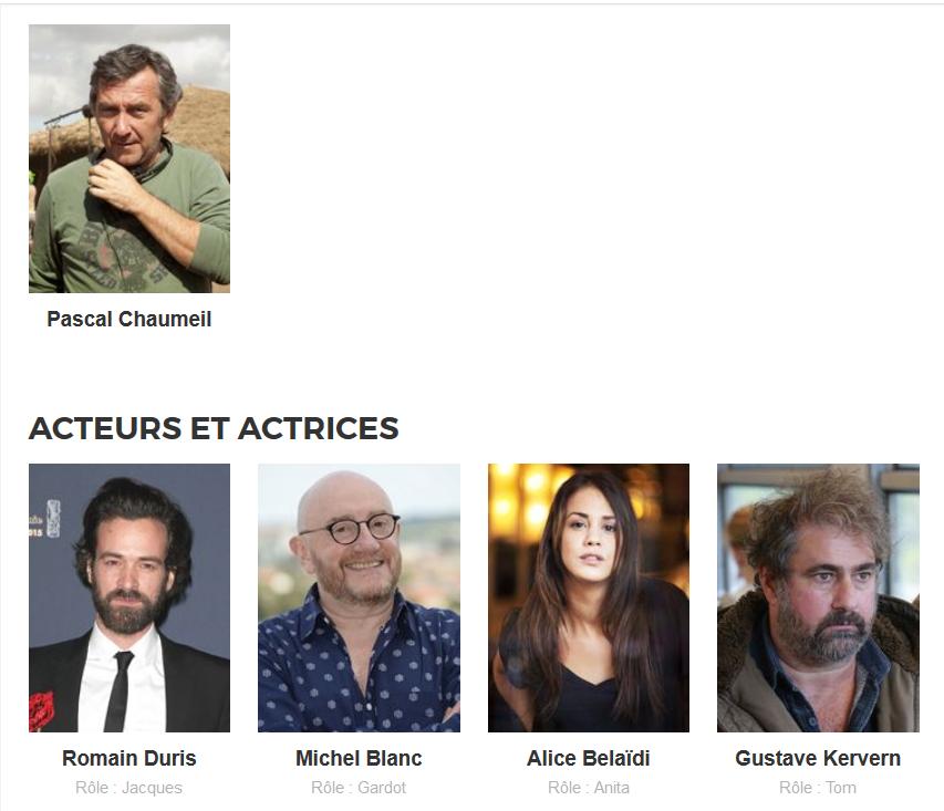 UN PETIT BOULOT / CINEMA / PASCAL CHAUMEIL. 2016