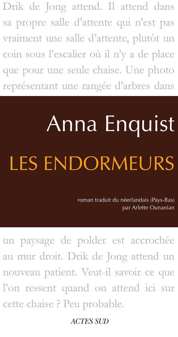 ANNA ENQUIST / LITTERATURE / CULTURE