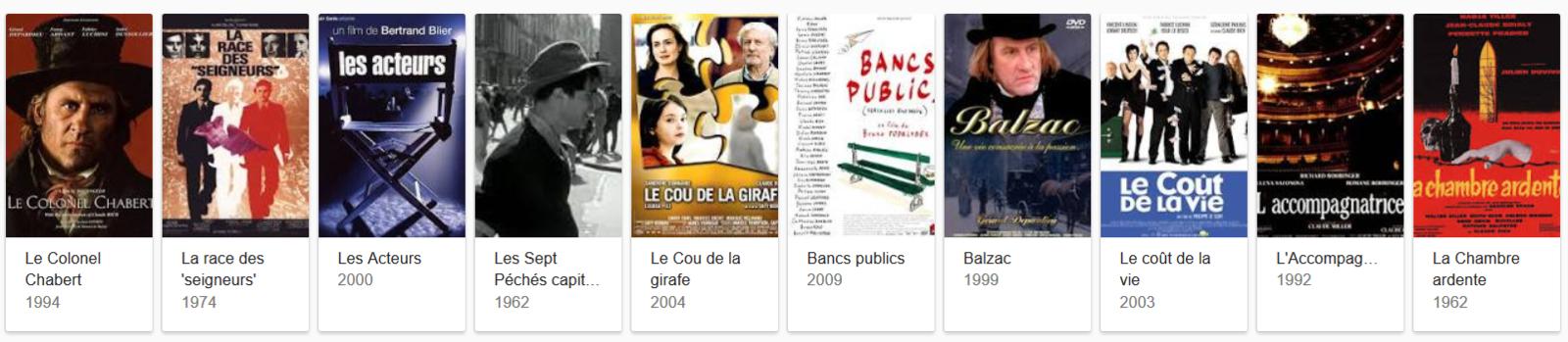 CLAUDE RICH NOUS A QUITTES / CINEMA / THEATRE / LA PERTE D'UN GRAND TALENT