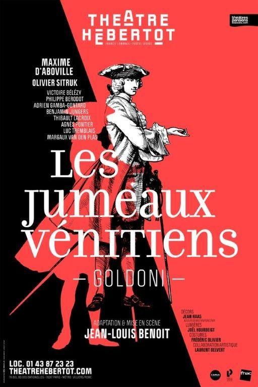 Les Jumeaux Vénitiens au Théâtre Hébertot / THEATRE / ACTUALITE
