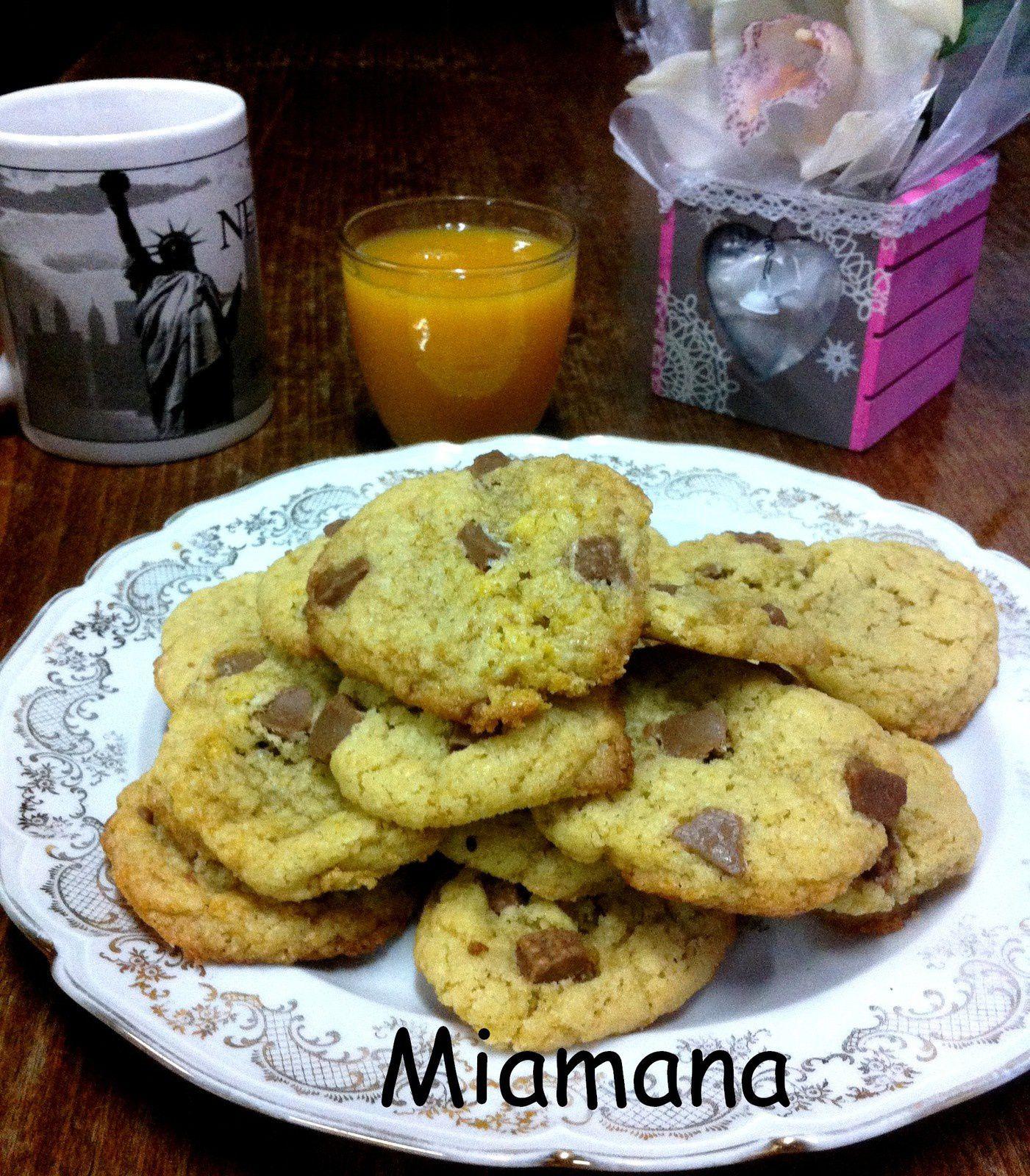 Petits cookies amandes pralinoise