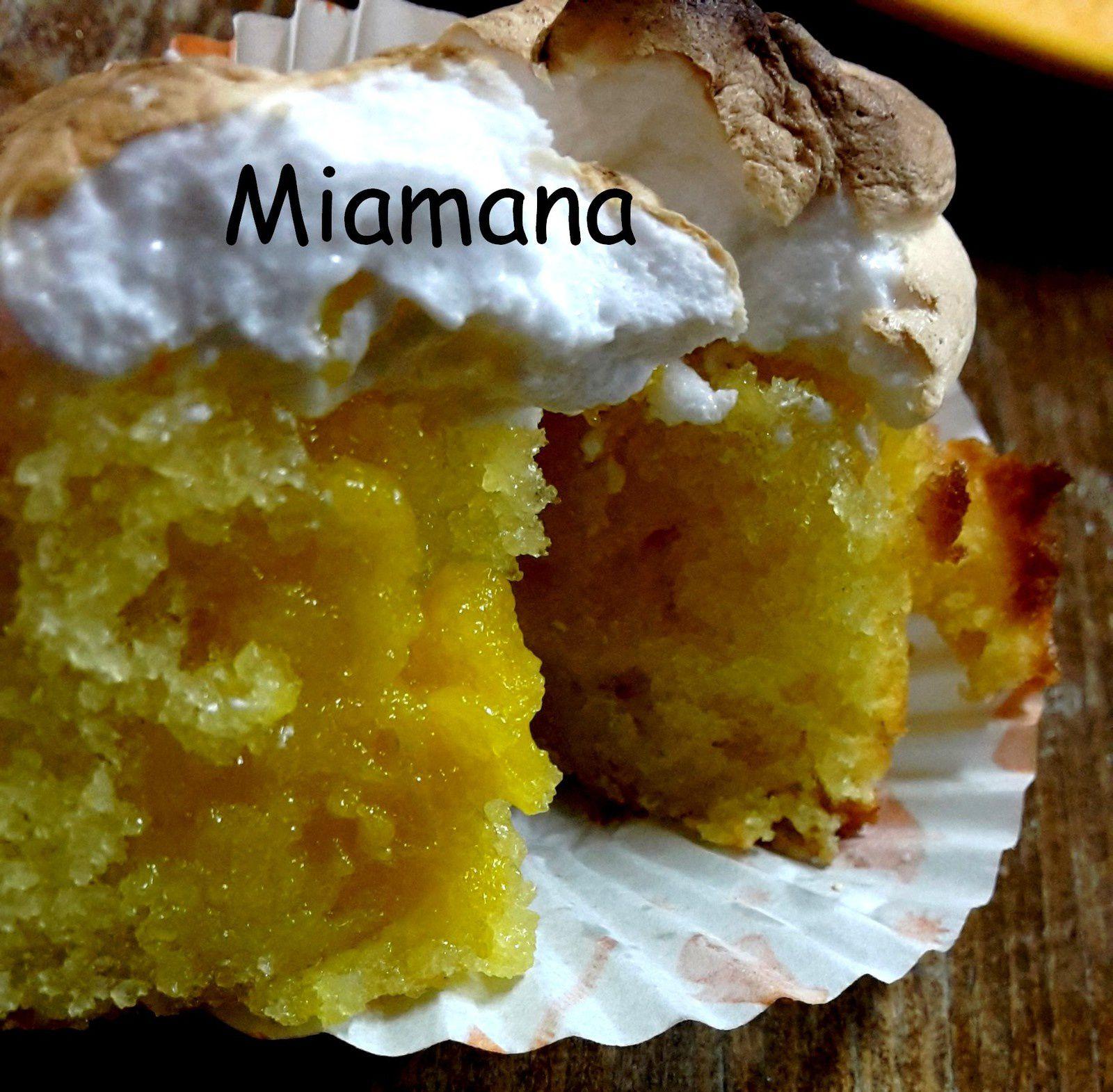 Cupcakes façon tarte au citron meringuée