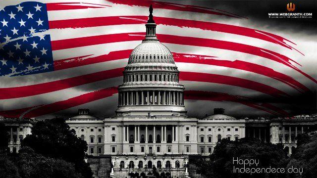 Le 4 juillet. Le jour de l'Indépendance des Etats-Unis d'Amérique.