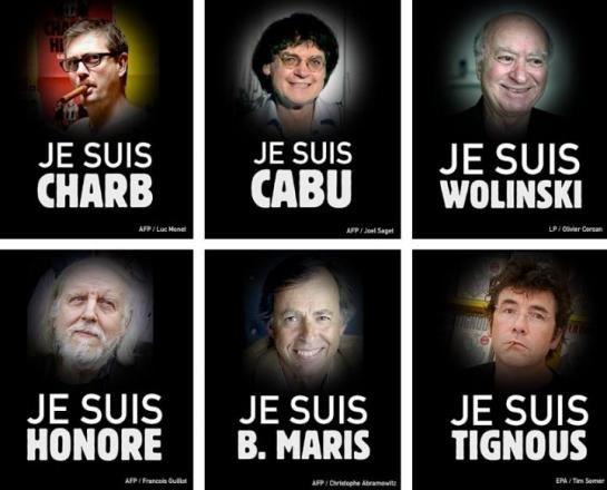 Des francs-maçons parmi les victimes de la tuerie de Charlie Hebdo.