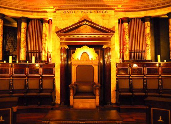 Le magnifique Temple de l'Hôtel Andaz à Londres