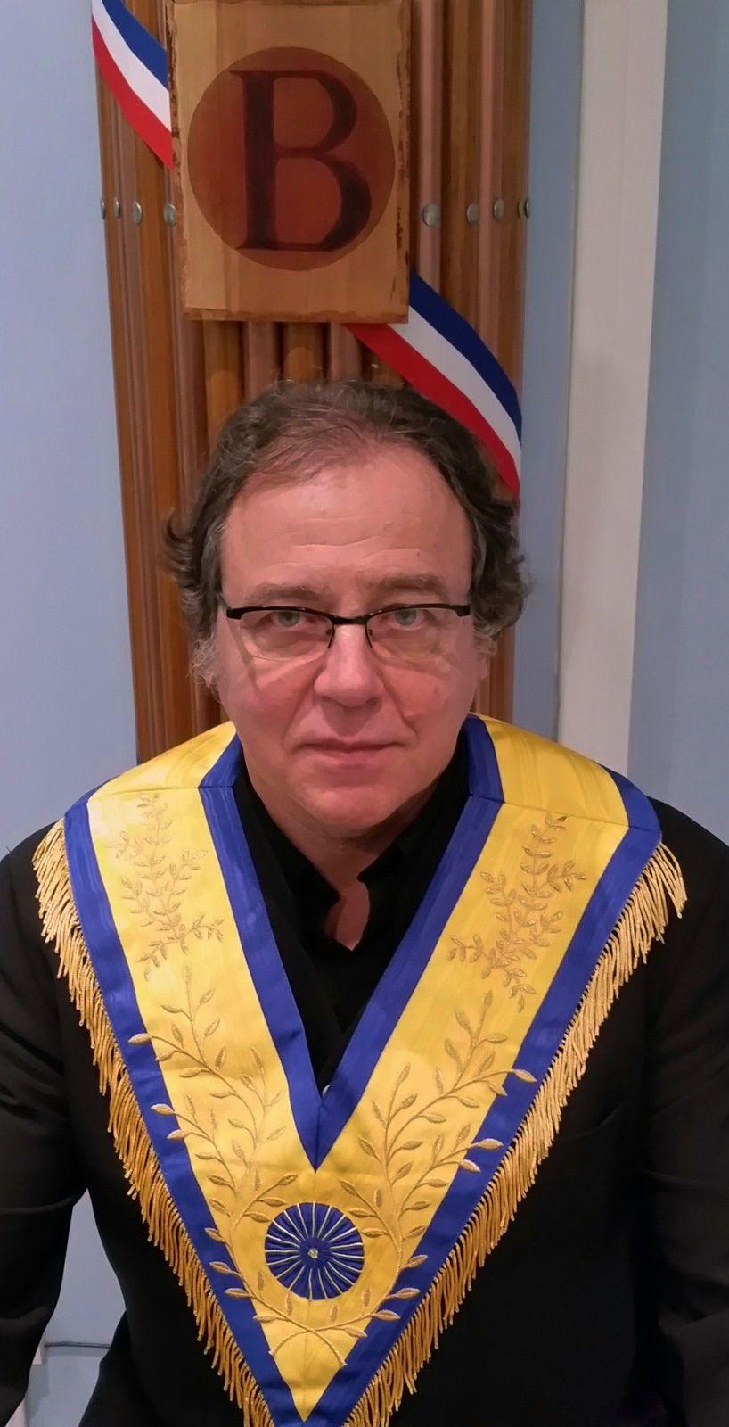 Alain Tirard, nouveau Grand Maître de la GLMU