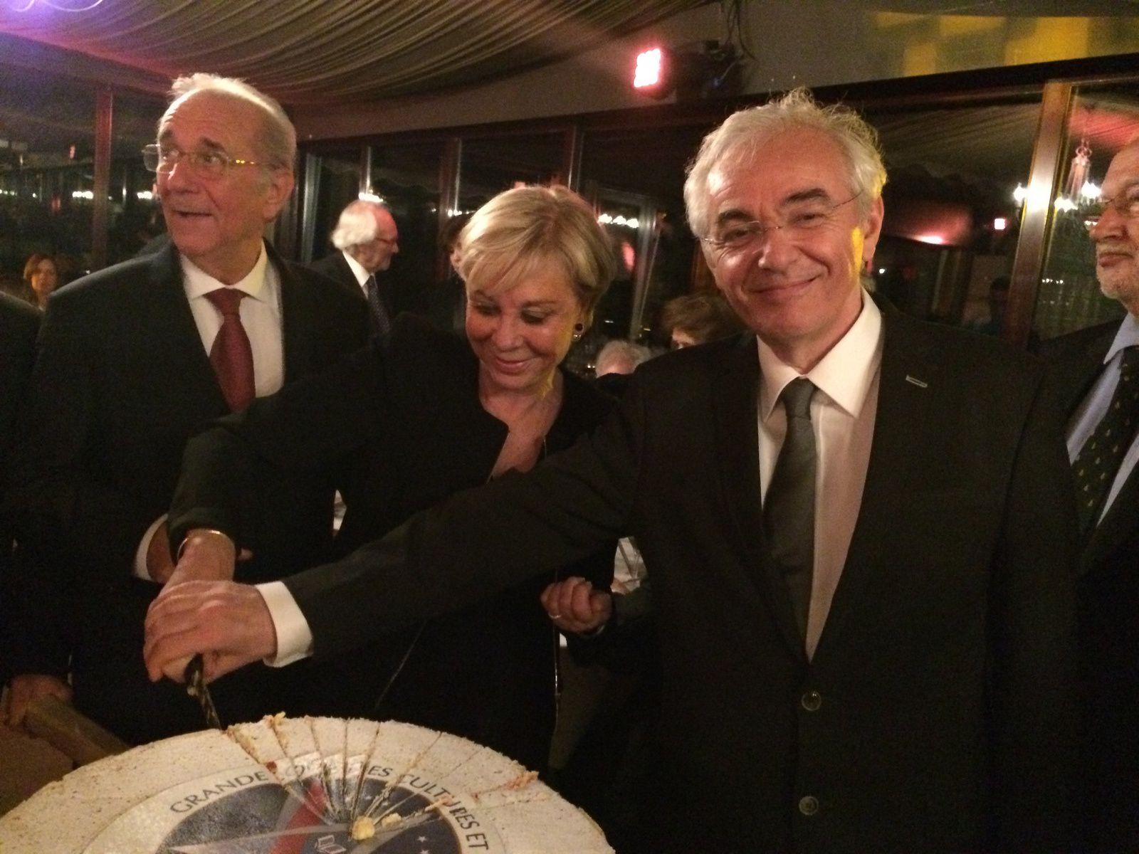 Marcel Laurent (GLCS),  Régina Toutin (GLFF), Didier Ozil (OITAR) et Pierre Leboullenger (GLMU).