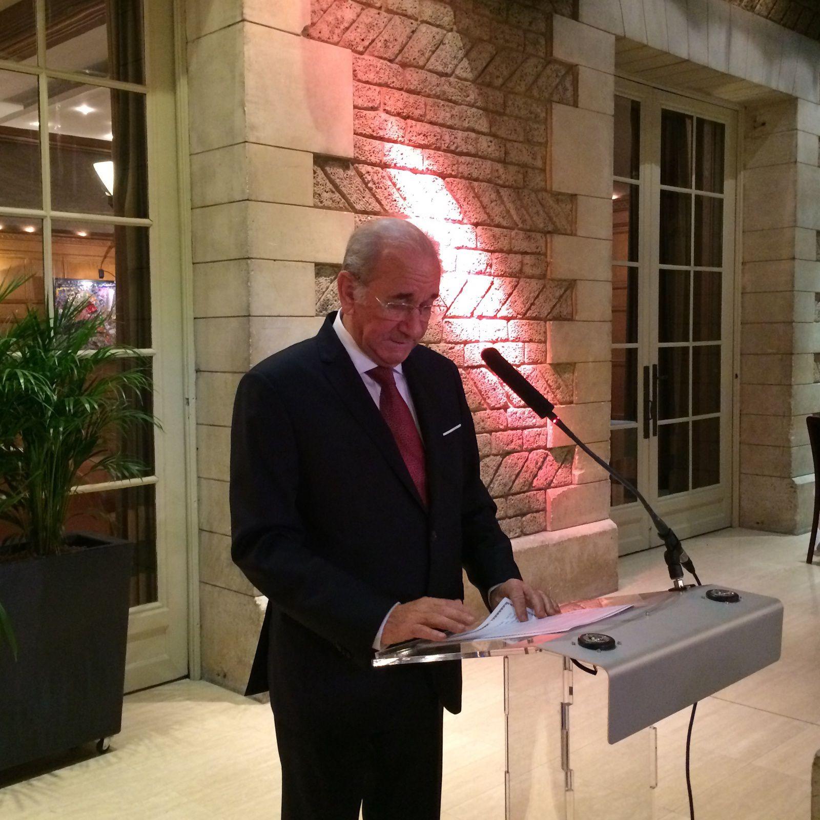 Intervention de Marcel Laurent au dîner de la GLCS.