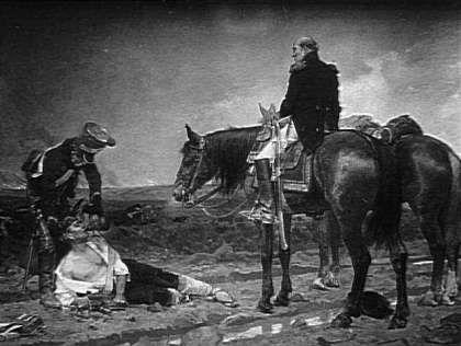 Après la bataille de Victor Hugo