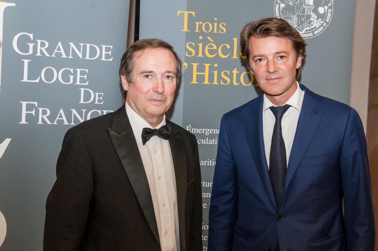 Philippe Charuel et François Baroin