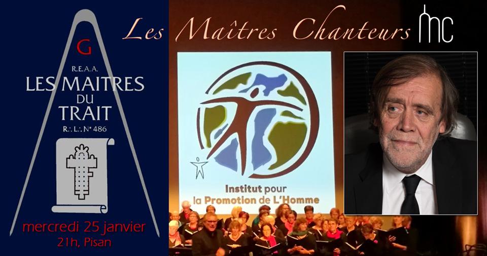 Concert au profit des œuvres de la GLNF le 25 janvier 2017 à Paris